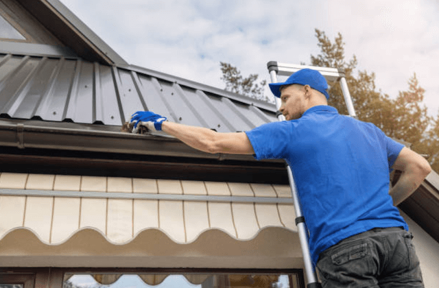 gutter cleaning in franklin
